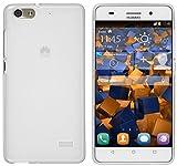 mumbi Schutzhülle für Huawei G Play Mini Hülle transparent Weiss