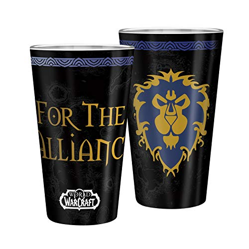 ABYstyle World of Warcraft, bicchiere XXL, 400 ml, fede nuziale