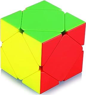Maomaoyu Skewb Stickerless Puzzle Cube Magique Magic Cube Puzzle Ultra Rapide (sans Autocollant)