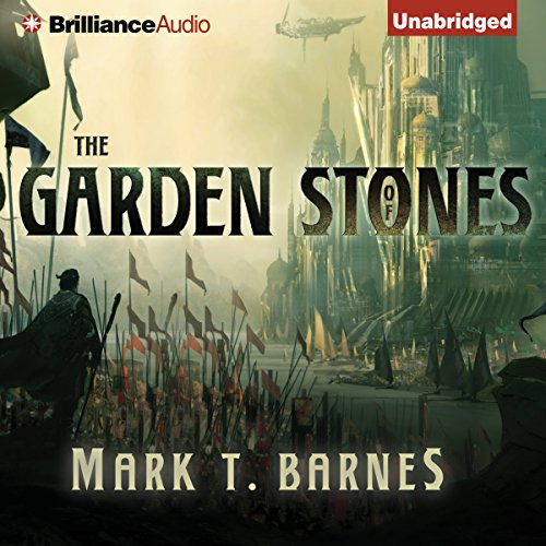 The Garden of Stones audiobook cover art