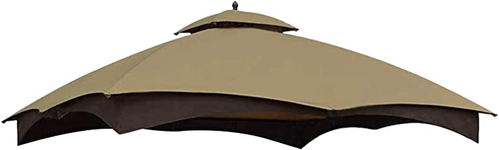 MASTERCANOPY Replacement Canopy Top for Lowe's Allen Roth 10x12 Gazebo #GF-12S004B-1 (Beige)