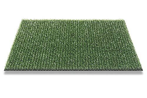 Astro Turf Classic Fußmatte 90 x 55 cm Klassisch-Grün | Fußabtreterr für Innen und Außenbereich Kunstrasen Matte für Schuhe
