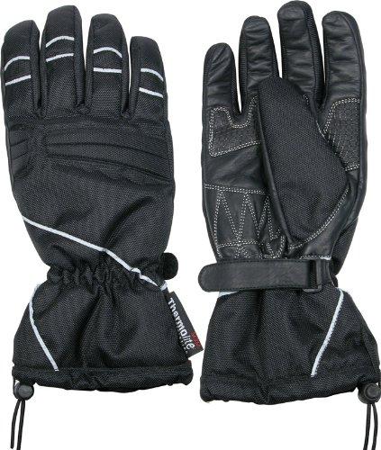 Ototop Motorrad Handschuhe, Schwarz, Größe L