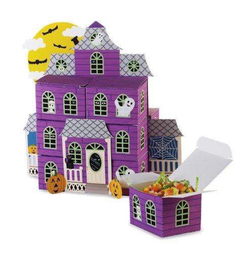Creative Conversion Halloween Haunted House Favor Box ma-tresse