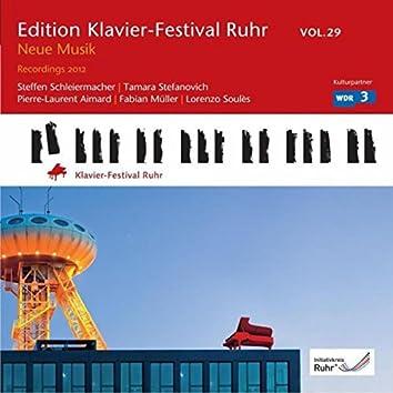 Contemporary Music (Edition Ruhr Piano Festival, Vol. 29)