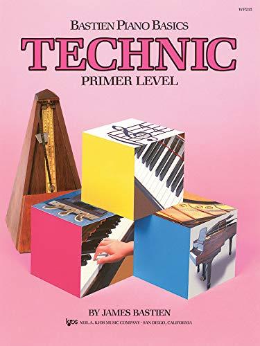 Bastien Piano Basics Technic Primer: Noten für Klavier