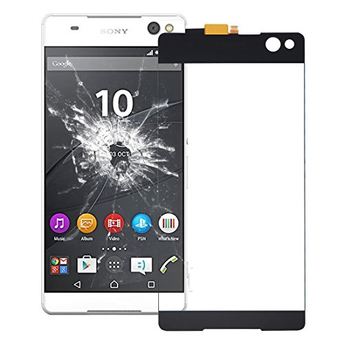 LHQ Sony Xperia C5用 Ultraタッチパネル(ブラック) (Color : Black)