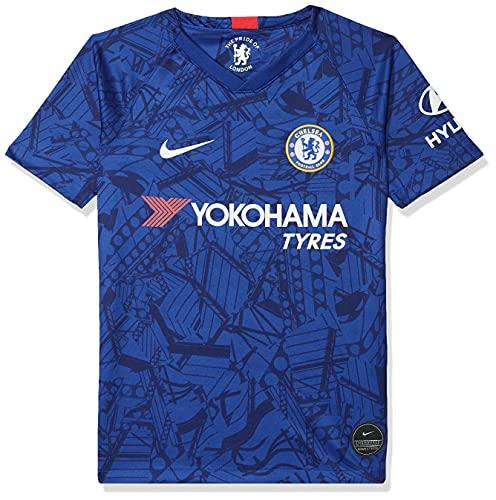 Nike Kinder CFC Y NK BRT STAD JSY SS HM T-Shirt, Rush Blue/White, XL
