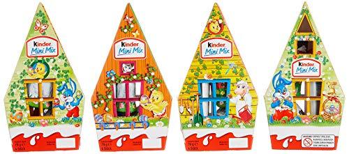 Kinder Mini Mix Haus, 4er Pack (4 x 79 g)