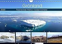Groenland - Faszinierende Wildnis in Nordost-Groenland (Wandkalender 2022 DIN A4 quer): Atemberaubende Landschaft in Nordost-Groenland (Monatskalender, 14 Seiten )