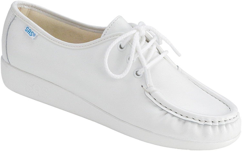 SAS SAS SAS kvinnornas Siesta Lace up Comfort skor, vit 6.5N  Det finns fler märken av högkvalitativa varor
