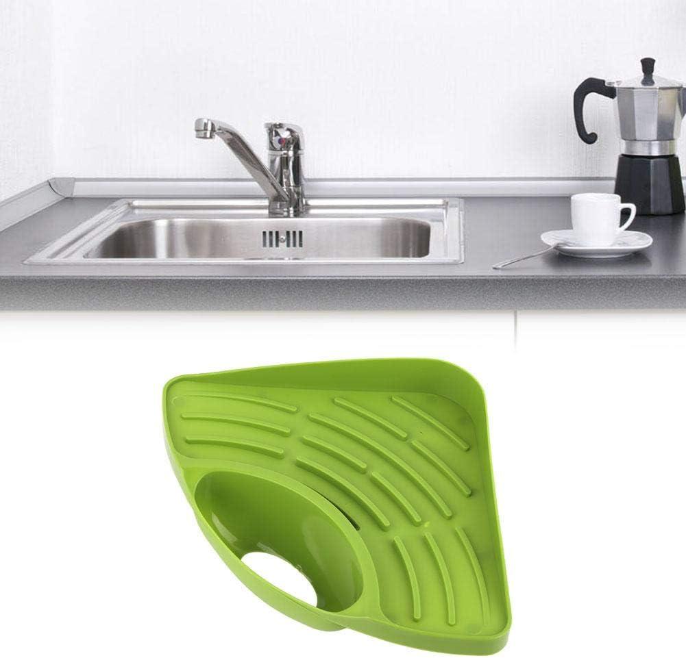 Multifunctional Kitchen Sink Organizer Blue Corner Draining Rack Sink Shelf for Home Kitchen Bathroom Accessories