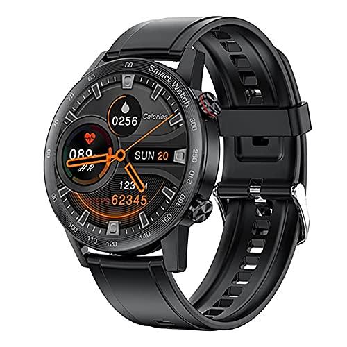 ZGZYL AK25 Hombre Smart Watch Bluetooth Call Reproductor De Música con Ritmo Cardíaco Y Presión Arterial Smart Watch Activity Tracker Fitness Watch Pedómetro Reloj Deportivo,A