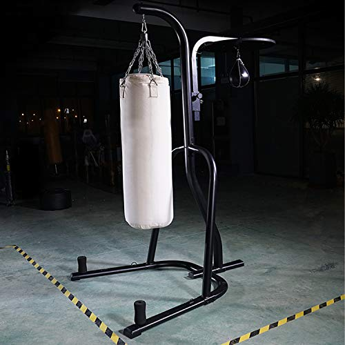 Heavy Duty Boxing Punching Bag Stand with Four Weight gain Components Speed Bag Board for Home Micro Gym Fitness Training Station