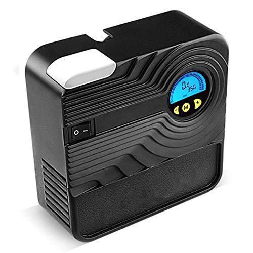Elektrischer Kompressor Fahrrad Tragbare Auto-Luftverdichter - 12V 150 PSI Mini Elektropumpe mit LED-Licht for Reifen for Autos / Motorräder / Fahrräder und andere aufblasbare Geräte, automatische Abschaltung