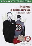 Inconnu à cette adresse by Kathrine Kressmann Taylor (2012-03-28) - Flammarion (2012-03-28) - 28/03/2012