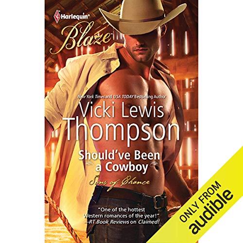 Should've Been a Cowboy audiobook cover art