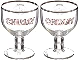 Chimay Belgian Trappist Ale Chalice Glass (set of 2)