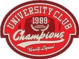 University Club Champions Amercian Football Rugby Sport Badge Vinyl Decal Bumper Sticker/Autocollant
