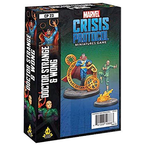 Marvel Crisis Protocol: Paquete de Personajes Dr. Strange y Wong