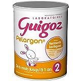 GUIGOZ Pelargon 2 - Lait bébé 2ème âge en poudre de 6 à 12 mois -...