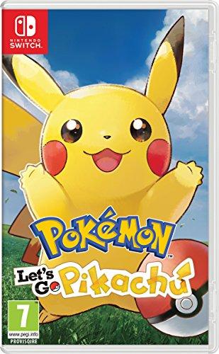 Pokémon : Let's Go, Pikachu - Nintendo Switch [Importación francesa]