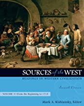 Sources of the West: Readings in Western Civilization, from the Beginning to 1715