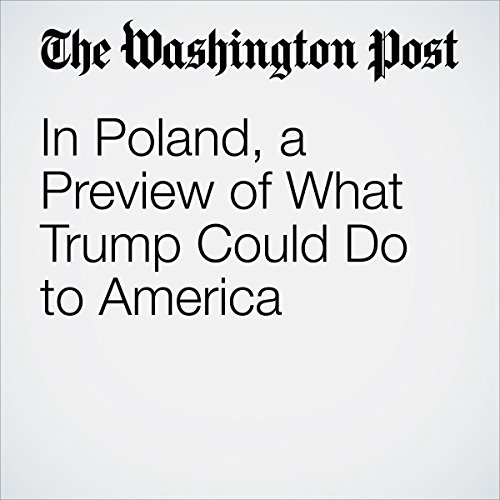 In Poland, a Preview of What Trump Could Do to America audiobook cover art