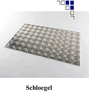 Longueur Profil creux en aluminium 1-2,5 m Tube rectangulaire en aluminium ELOXIERT