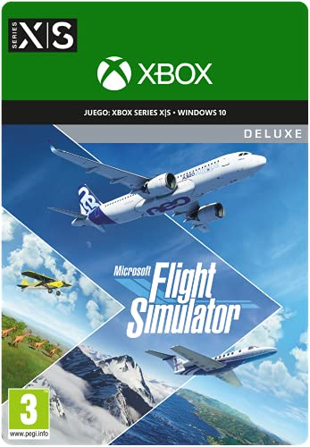 Microsoft Flight Simulator Deluxe Edition   Código digital para PC y Xbox Series X   S
