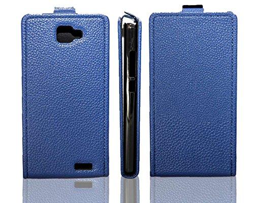 caseroxx Flip Cover für Archos 50 Neon, Tasche (Flip Cover in blau)