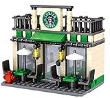 Modbrix City Ladrillos Cafe Tienda, 190Piezas construcción Juguete