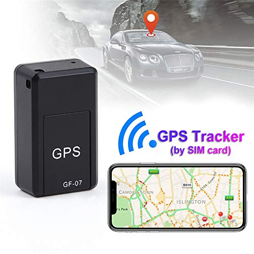 Maxgoods Mini GF-07 GPS Long Standby Magnetic SOS Tracking Device for Vehicle/Vehicle/Personnel Positioning Tracker Positioning System