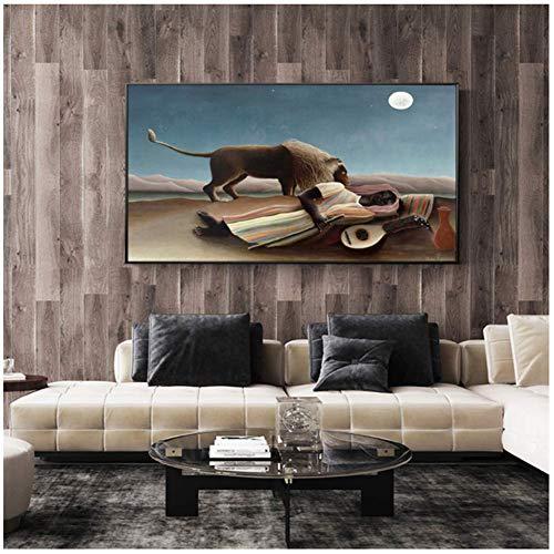 Moderne HD Nordic Stijl Slapende Zigeuners Canvas Schilderij Kunst Muur Foto Woonkamer Thuis Decor Posters En Prints-50x100 cm Geen Frame
