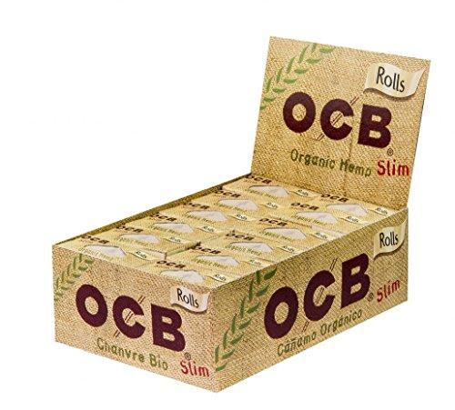 OCB 1009 Organic Hemp Slim Rolls