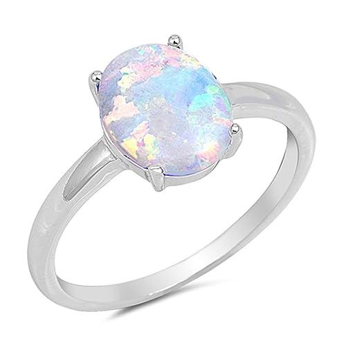 b907ff75c0ecc Opal Rings: Amazon.com