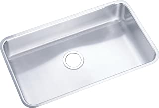 Elkay Lustertone ELUH2816 Single Bowl Undermount Stainless Steel Kitchen Sink