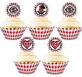 I Do BBQ Birthday Cupcake Kit - 24 Picnic...