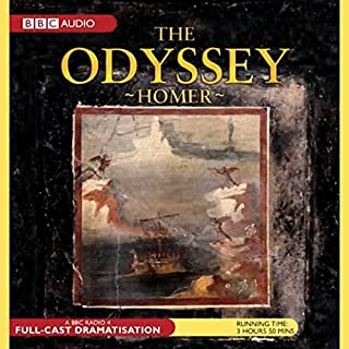 The Odyssey (Dramatised)                   By:                                                                                                                                 Homer,                                                                                        Simon Armitage - dramatisation                               Narrated by:                                                                                                                                 Tim McInnerny,                                                                                        Amanda Redman,                                                                                        full cast                      Length: 3 hrs and 49 mins     52 ratings     Overall 4.8