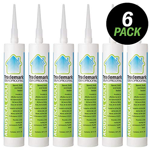 TMS Acoustical Caulk - 6 (28oz) Tubes