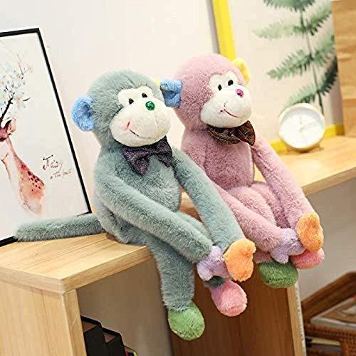 Gefüllte Spielzeug 2 stück 40 cm plüsch Spielzeug Langen arm Monkey Puppe Nette Gott Monkey Puppe hässliche Nette Puppe Jikasifa