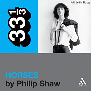 Patti Smith's 'Horses' (33 1/3 Series) audiobook cover art