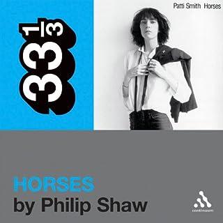 Patti Smith's 'Horses' (33 1/3 Series) cover art