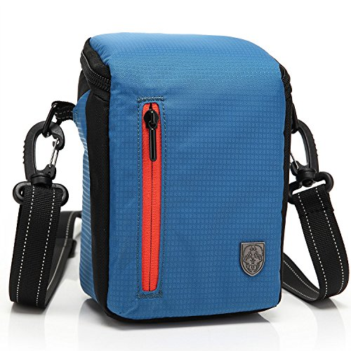 First2savvv BDV2503 azul calidad de lujo bolsa impermeable de Cámara acolchada bolsa...