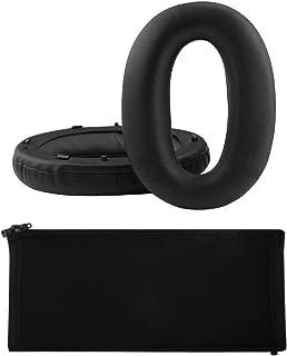 Geekria イヤーパッド + ヘッドバンド カバー Sony ソニー WH-1000XM2, MDR-1000X 等ヘッドホン対応 交換 用 ヘッドホンパッド イヤークッション セット