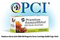 プレミアム互換機Inc。016–2006–00-pci交換カートリッジインクとトナーXerox Phaserのプリンタ用、マゼンタ