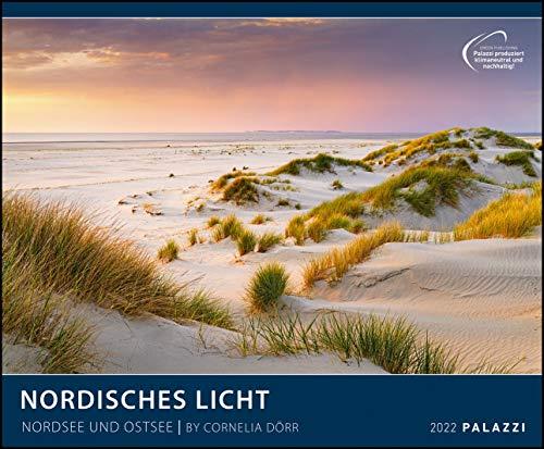 Nordisches Licht 2022 - Bild-Kalender - Wand-Planer - 60x50: Nordsee und Ostsee