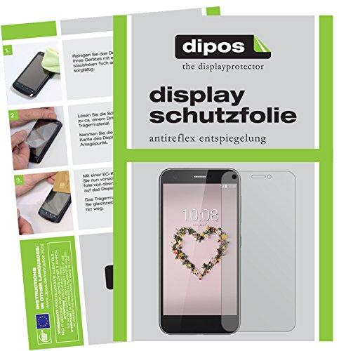 dipos I 2X Schutzfolie matt kompatibel mit ZTE Blade A512 Folie Bildschirmschutzfolie