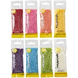 Wilton Rainbow Jimmies Sprinkles Dessert Decorating Set, 8-Piece