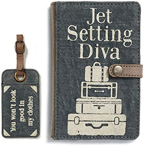 Bundle Pack of Travel Wallet and Luggage Tag 2 Items
